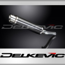 DL10 350mm Round Carbon Fibre Silencer to fit CB500X (2016)