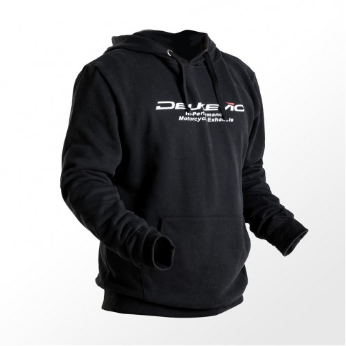 DELKEVIC BLACK HOODIE SMALL